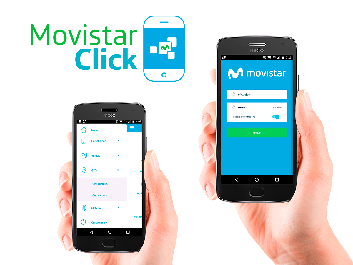 Creación logotipo para APP Movista Click
